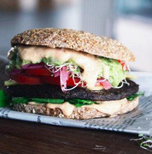 42raw vegetar burger pris