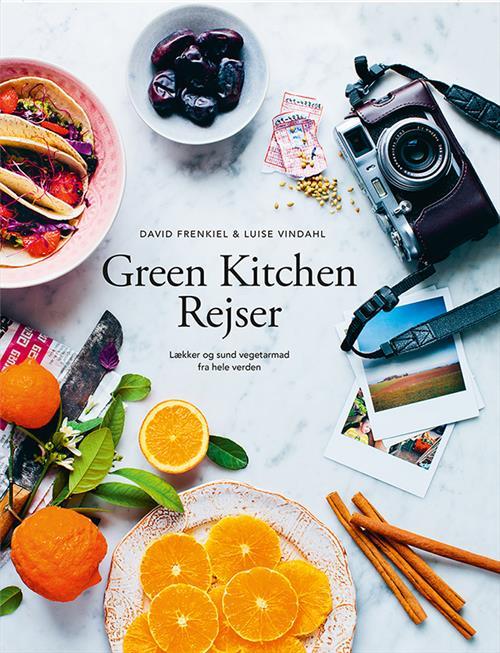 green kitchen rejser bog