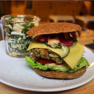 SimpleRAW vegetar burger