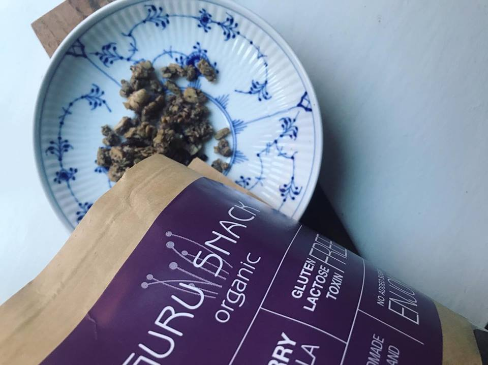 Økologisk granola fra Guru Snack